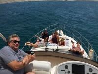 在游艇和开胃酒阿利坎特海岸巡游4小时