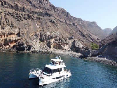 乘船游览和现场音乐大加那利岛5小时
