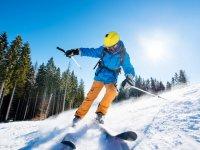 Clases de esquí en la estación de Candanchú