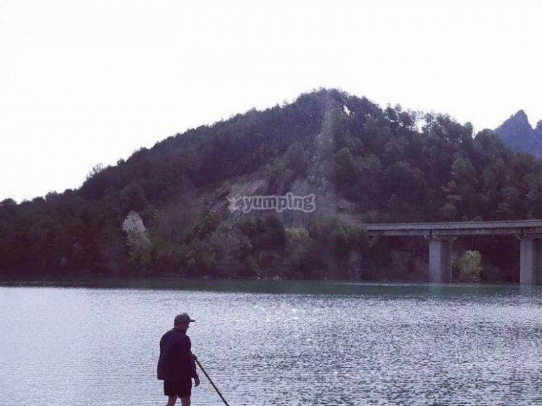 Enjoying the reservoir