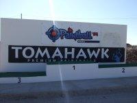 Tomahawk Mural