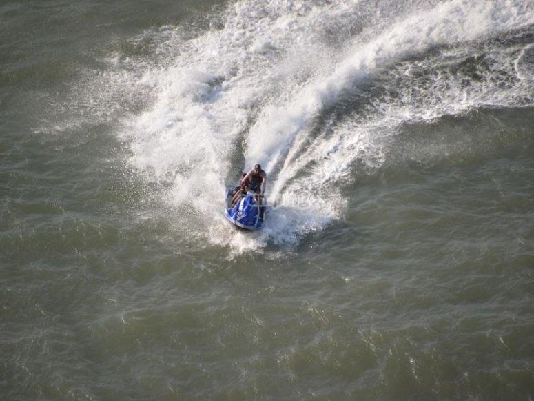 Surcando las aguas dulces