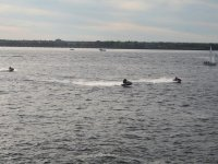 Two-seater jet ski ride with guide in Riaño 30min