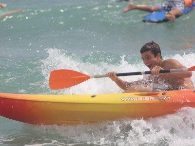 Alquiler kayak individual y pala en El Campello 2h