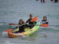Double kayak and paddle rental El Campello 1 h