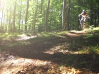 Extreme trails with MTB