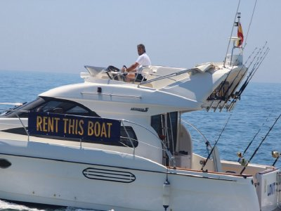 Boat trip from Marbella yacht harbour 8 hours