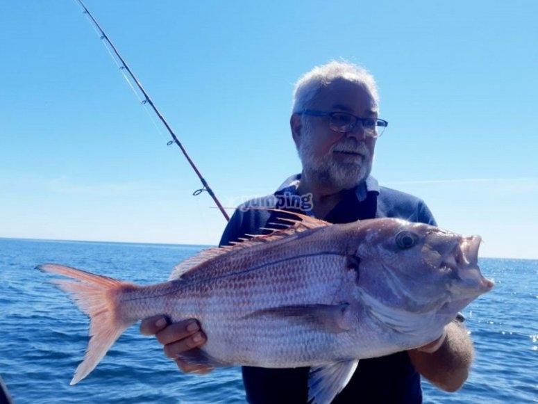 带着他的鱼感到骄傲