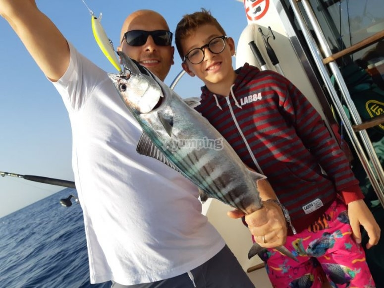沿海捕捞的鱼