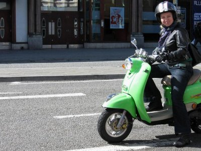 Madrid city tours Rutas en Scooter