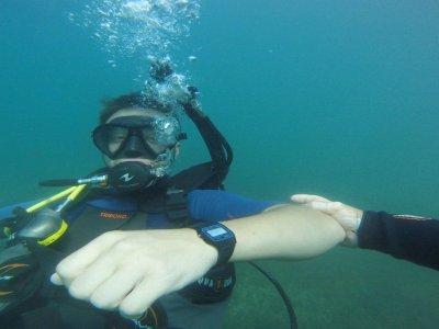Curso de buceo Rescue Diver y EFR en Denia