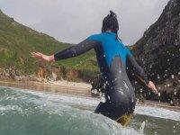 Clases de surf y equipo completo en Llanes 3h