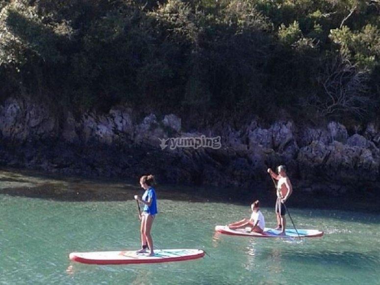 Bautismo de paddle surf