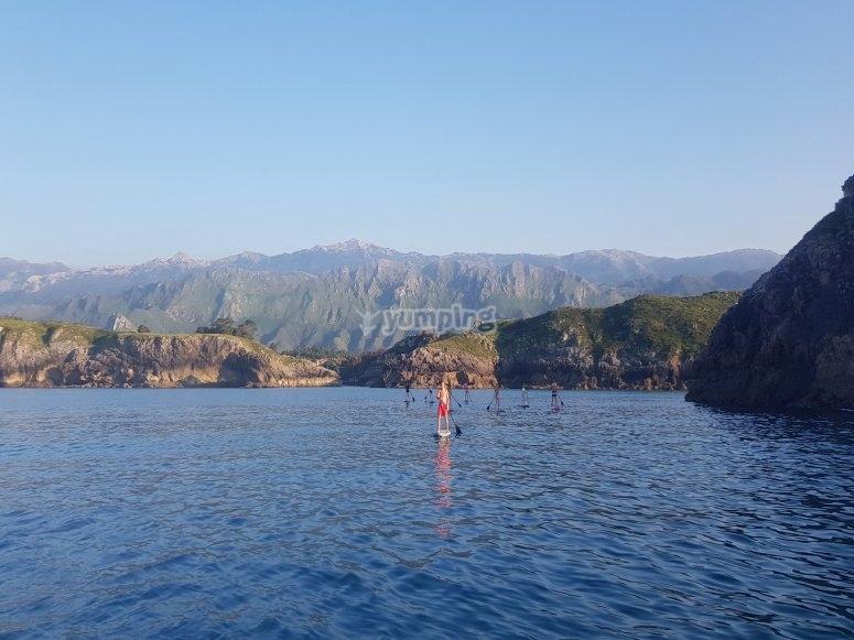 Navegando por la costa asturiana