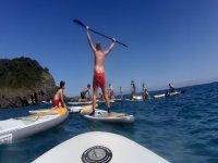 Corso di paddle surf a Llanes 3 ore