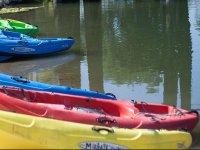 Kayaking of various types