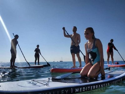 Alquiler material de paddle surf Alicante 2 horas