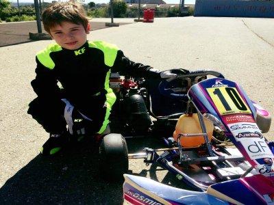 1 round di bambini Karting a Ciudad Real 8 minuti