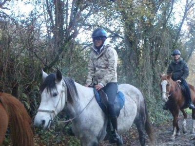 Ruta a caballo hasta San Vicente de la Barquera