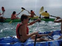 Curso de Kayak iniciación en Alicante 2horas