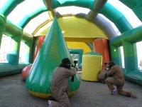 Escenarios moviles de paintball