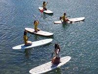 los peques aprenden paddle surf