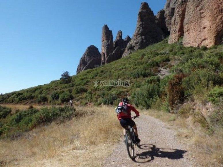 Godersi la mountain bike
