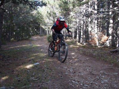 Tour en bicicleta principiantes Ruta del Ferro 3 h
