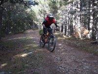Percorso in bicicletta
