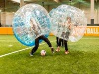 Bubble football in Zaragoza