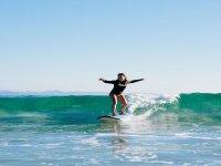 Clase de surf privada en playa de Muchavista 3 h