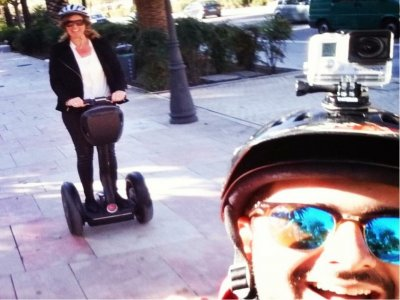 Segway ride through the Alcazaba in Malaga 30 min