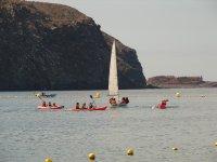 Regatas Raquero和皮划艇Vaurien