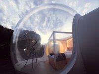Habitación burbuja de día