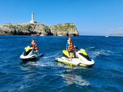 Ruta en Moto de agua biplaza en Santander T.Baja