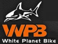 White Planet Bike