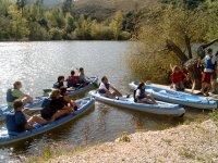 皮划艇团体活动