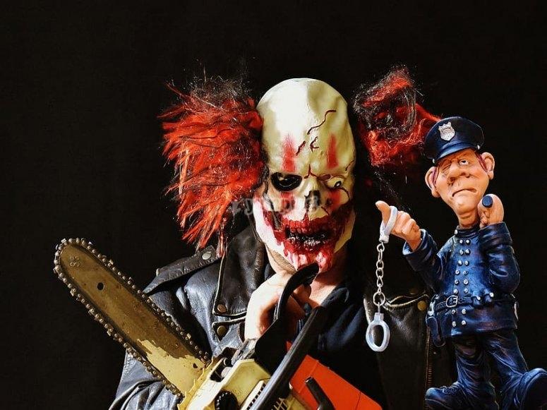 一个非常不友好的小丑