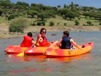 A family day by kayak