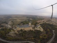 Segovia under the globe
