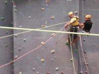 在León-999攀登墙 - 攀登起始点