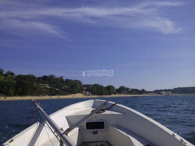 Sailing the Cantabrian coast