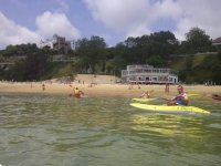 Canoeing course in Magdalena beach 1 hour