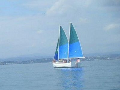 Alquiler barco de vela ligera Playa Magdalena 1día