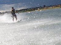 Esquí acuático con amigos Puerto de Estepona 15min