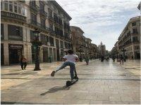 Alquiler de patinete eléctrico en Málaga 1 hora