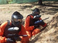 Paintball game in Huelva