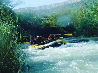 Rafting en el río Guadalope y fotografías Teruel