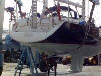 revisando el barco