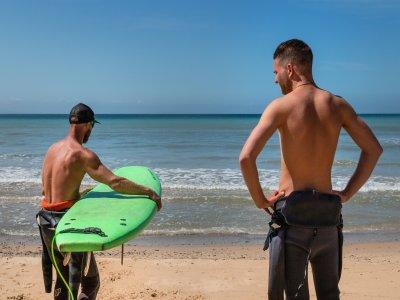 Clase de surf privada en Tarifa 1h 30min